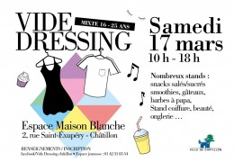 Inscription  au Vide-Dressing